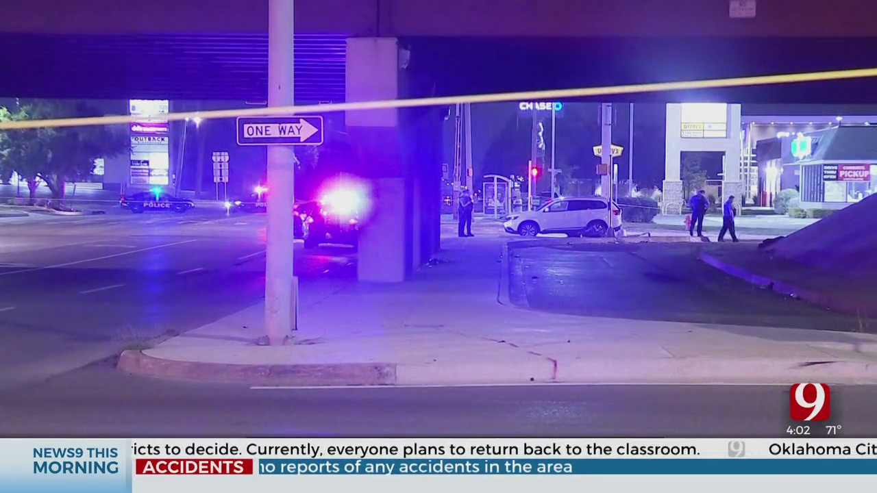 Police Car Hit By Stray Gunfire In Overnight Shooting