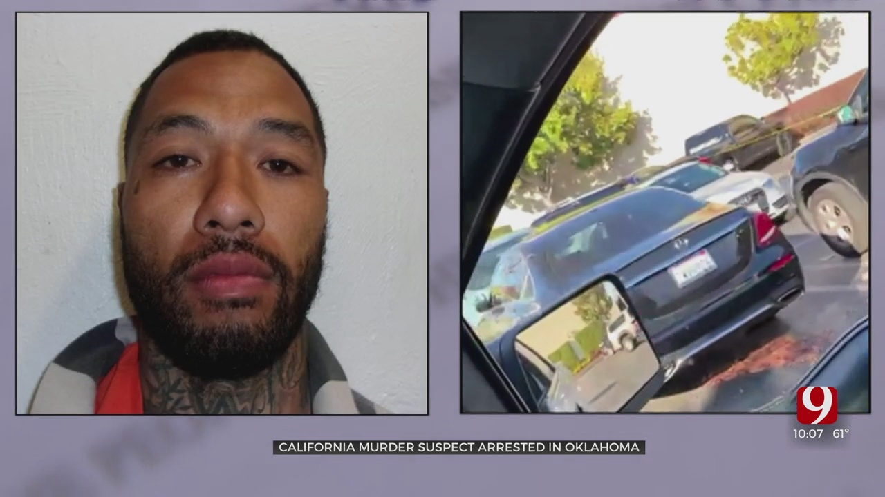 California Murder Suspect Arrested In Blanchard, Oklahoma