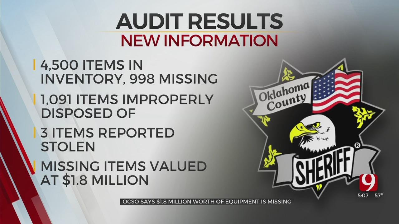 Okla. Co. Sheriff Speaks After Audit Findings