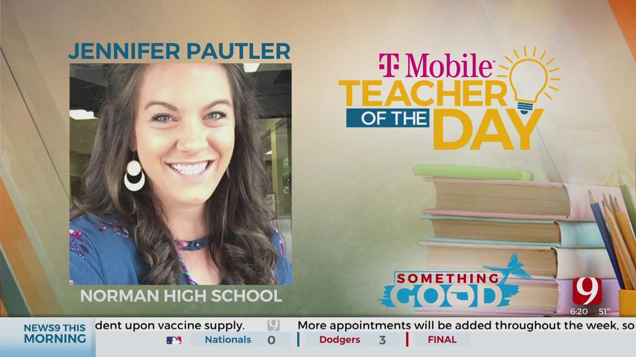 Teacher Of The Day: Jennifer Pautler