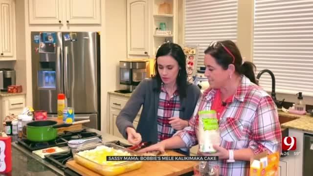 Sassy Mama: Bobbi's Mele Kalikimaka Cake