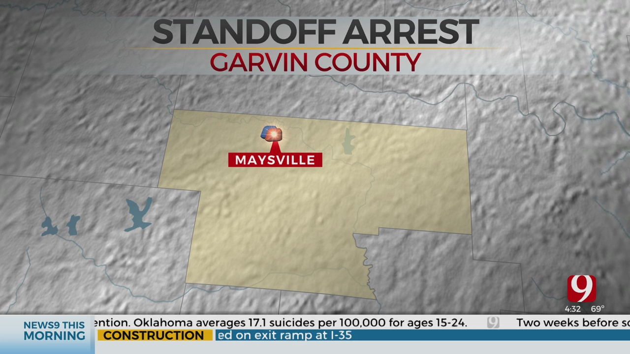 Standoff In Garvin County