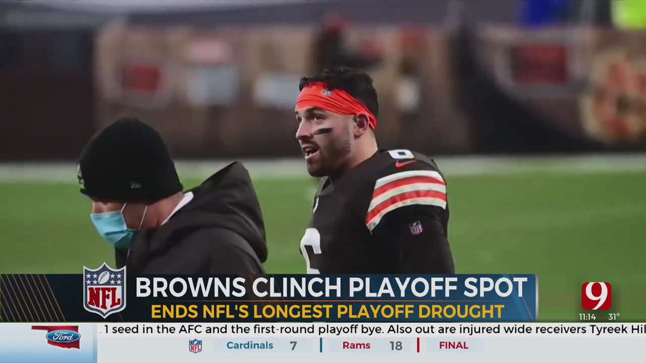 Baker Mayfield And The Browns Are Headed To The Playoffs