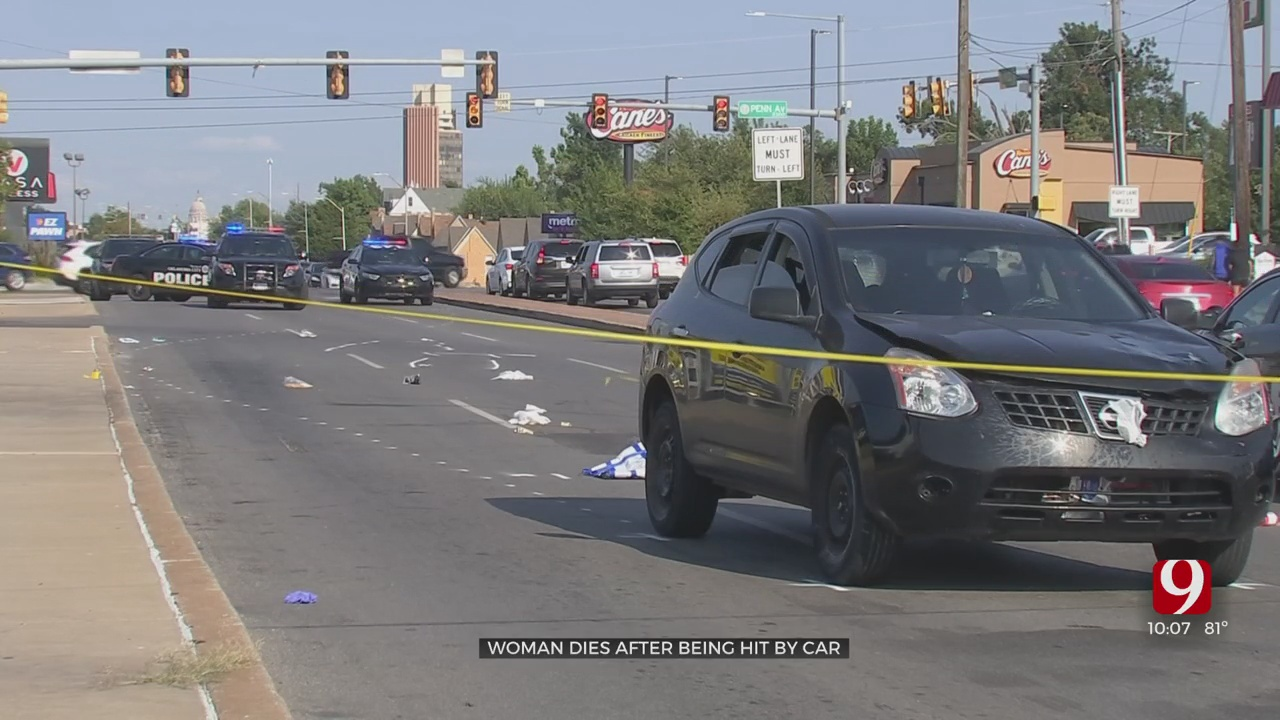 1 Person Killed In NW OKC Auto-Pedestrian Crash, Witnesses Warn Others About Area