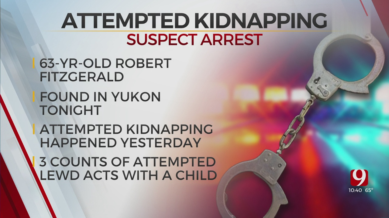 Suspect Arrested, Identified In Connection With Attempted Kidnapping