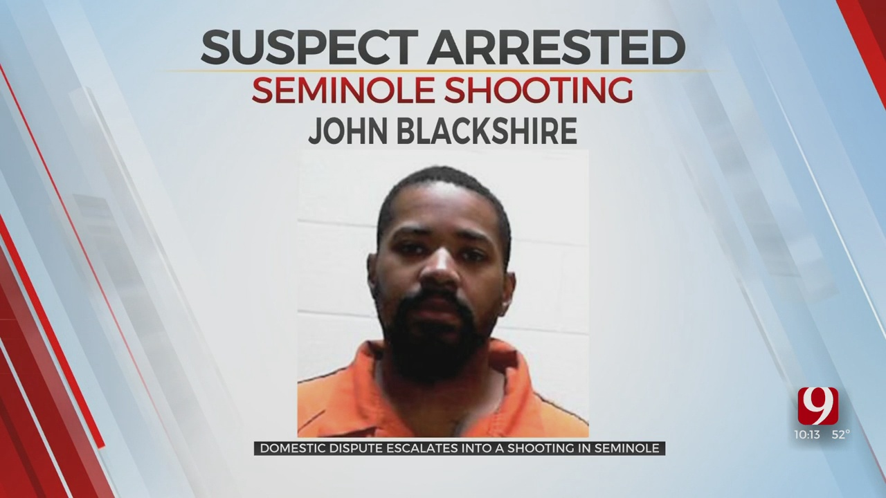 Man Arrested After A Seminole Shooting Involving His Estranged Wife, Another Man