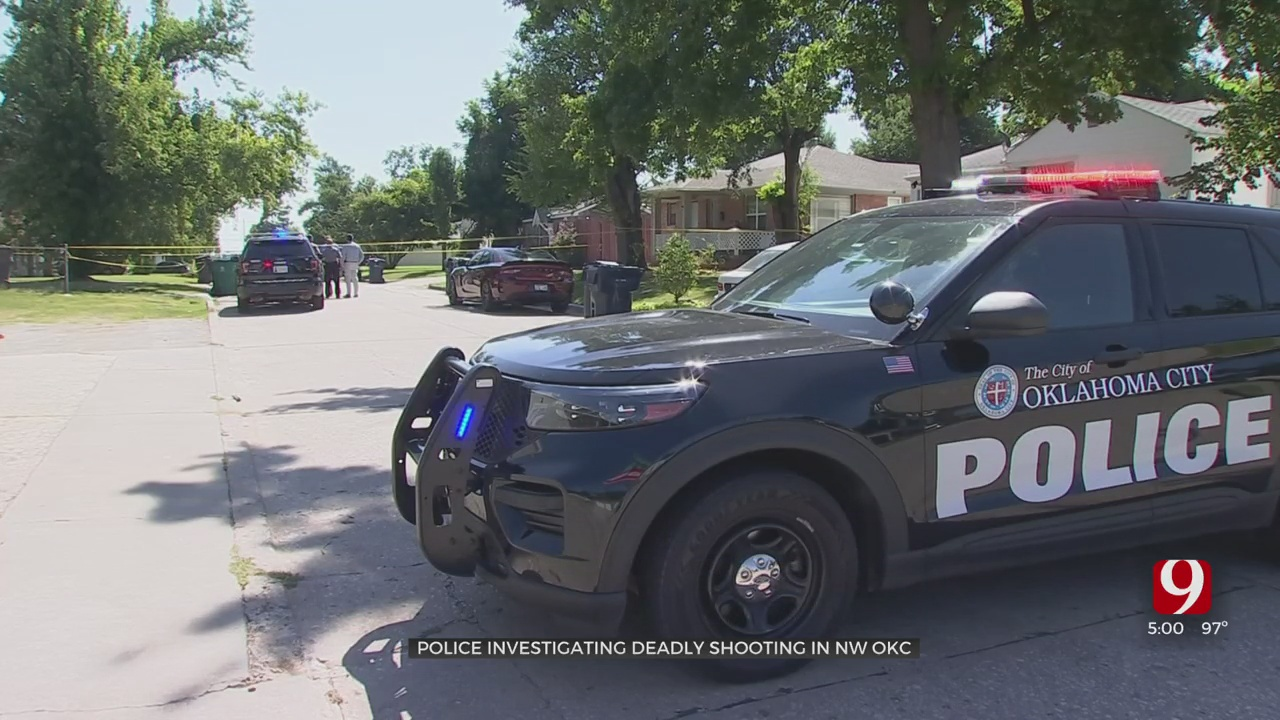 Man Shot, Killed In NW OKC Home, Police Say