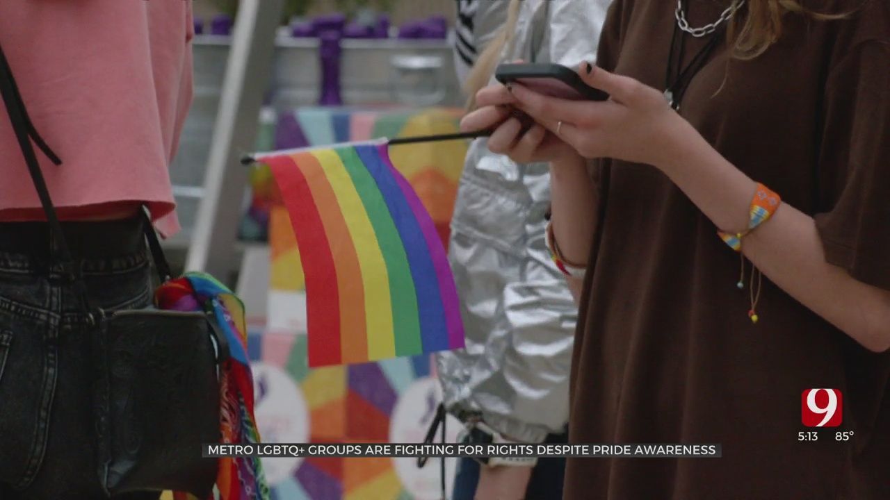 Oklahoma LGBTQ+ Groups Continue To Fight For Rights Despite More Pride Awareness