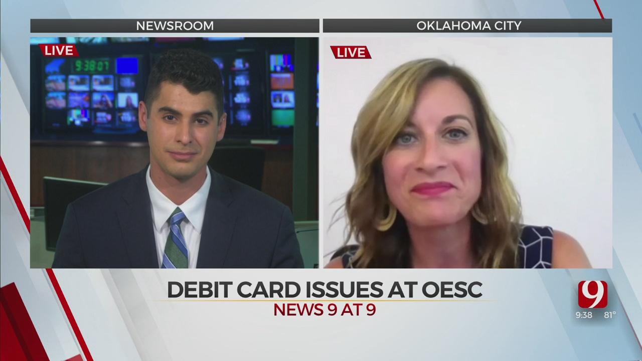 OESC Executive Director Shelley Zumwalt Talks About Debit Card Issues