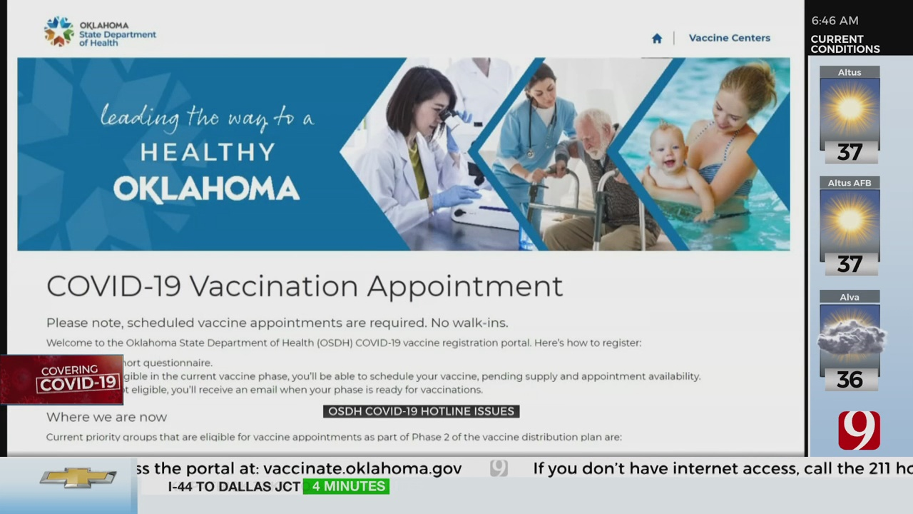 Health Officials Search For Helpful Solution To Assist Oklahomans Through Pandemic