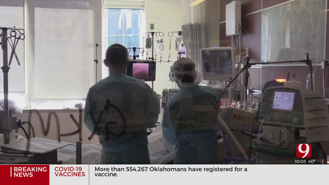 COVID-19 Cases, Hospitalizations See Drop In Nation & Oklahoma