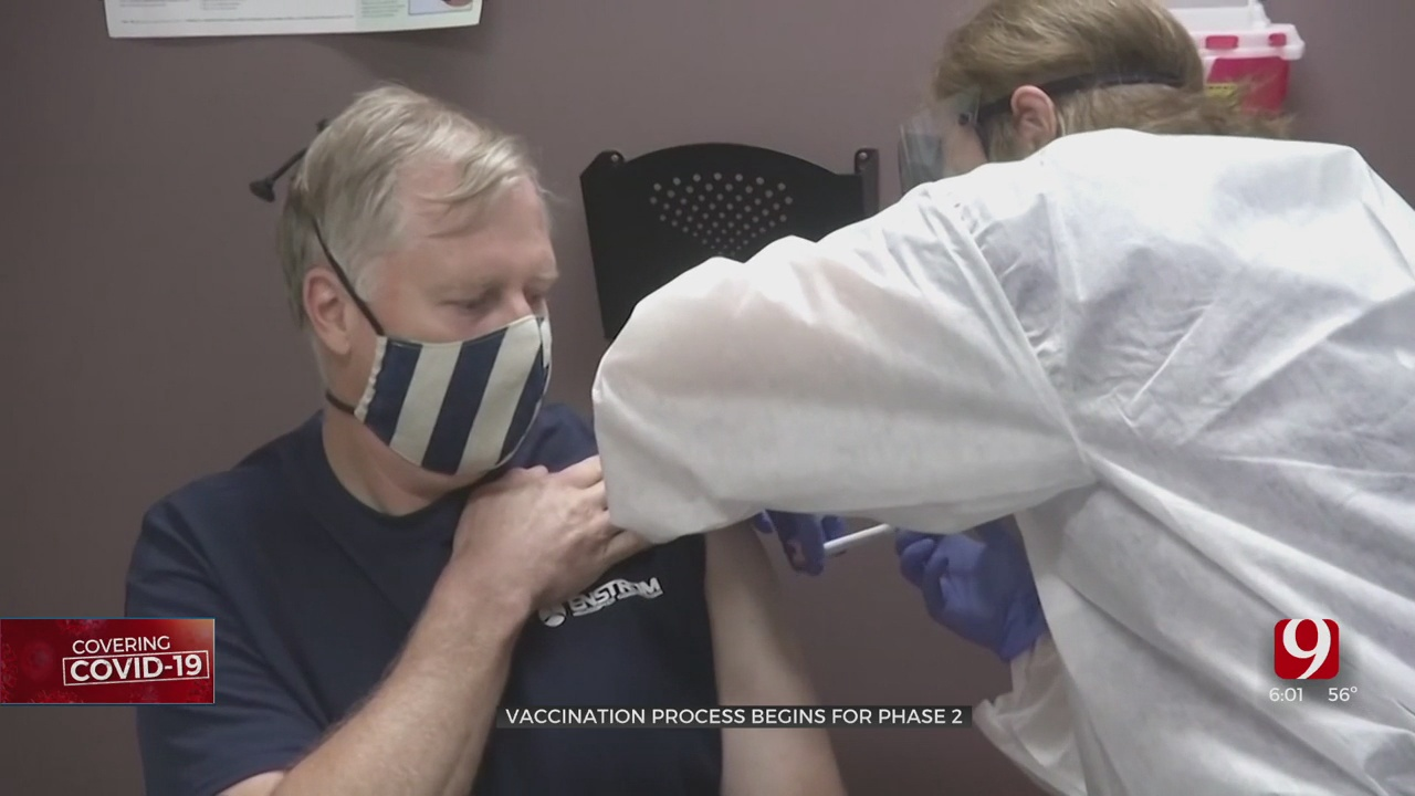 Vaccine Clinics Rollout Across Oklahoma As Phase 2 Begins