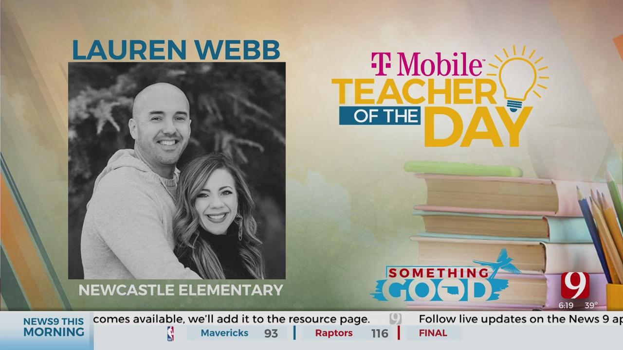 Teacher Of The Day: Lauren  Webb