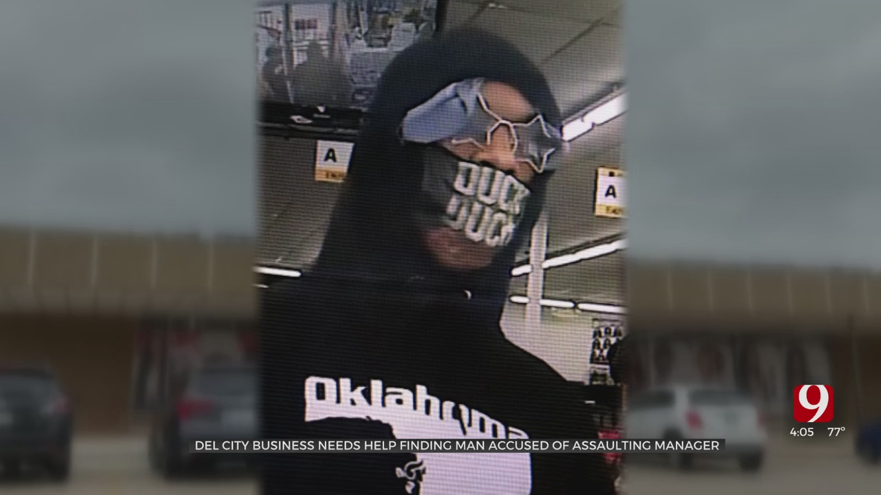 Police Looking For Man Accused Of Assaulting Del City Beauty Supply Store Manager
