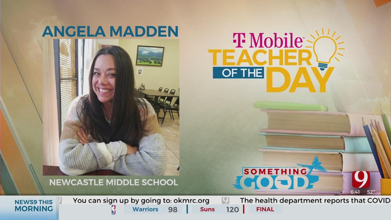 Teacher Of The Day: Angela Madden