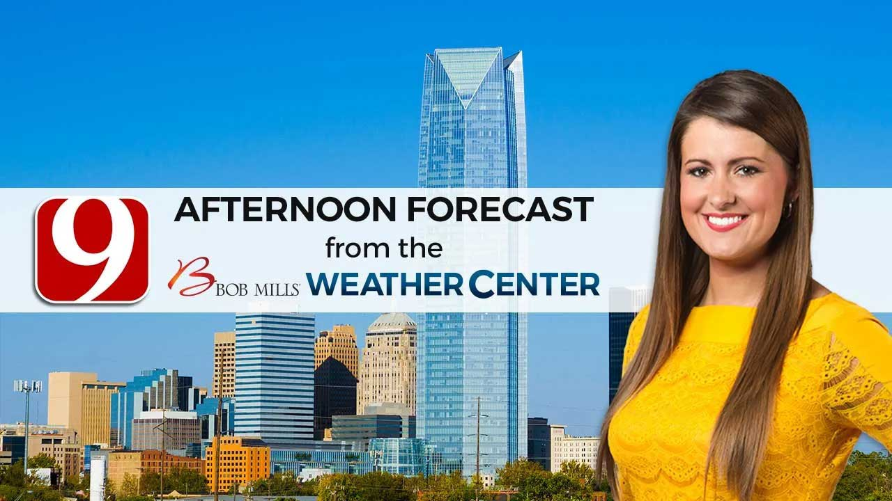 Friday Afternoon Forecast With Lacey Swope