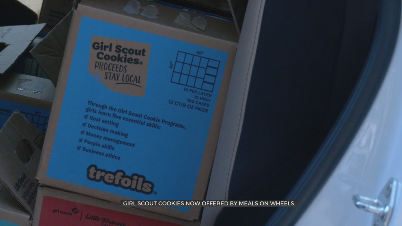 OG&E Buys 2,000 Boxes Of Girl Scout Cookies To Donate To Meals On Wheels
