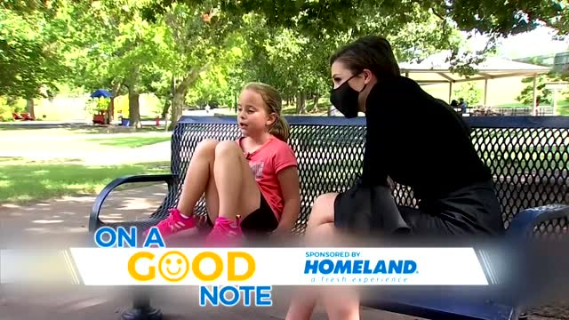 On A Good Note: 7-Year-Old Girl Saves Baby Brother From Drowning