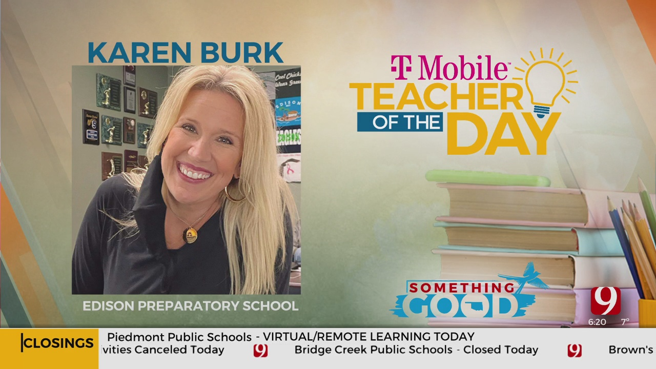 Teacher Of The Day: Karen Burk
