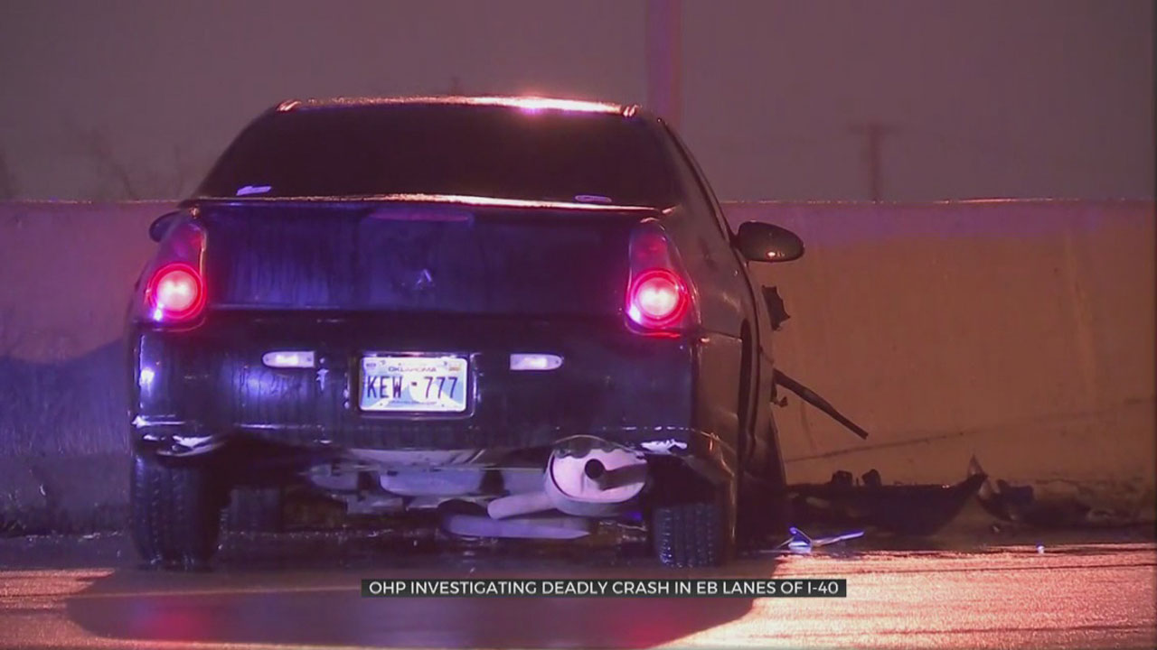 Troopers Say 1 Dead Following Crash On I-40 EB