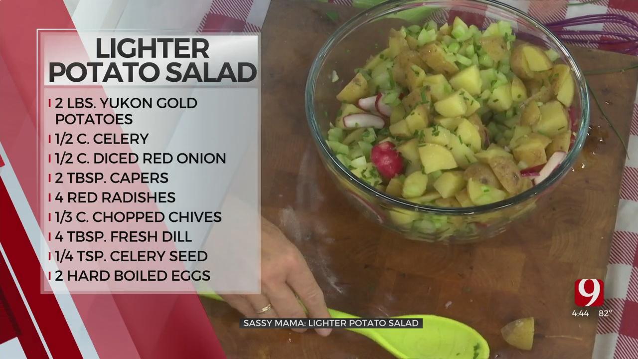 Sassy Mama: Lighter Potato Salad