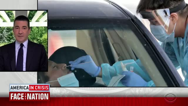 Former FDA Commissioner Says U.S. 'Right Back Where We Were' At Earlier Peak Of Coronavirus Outbreak