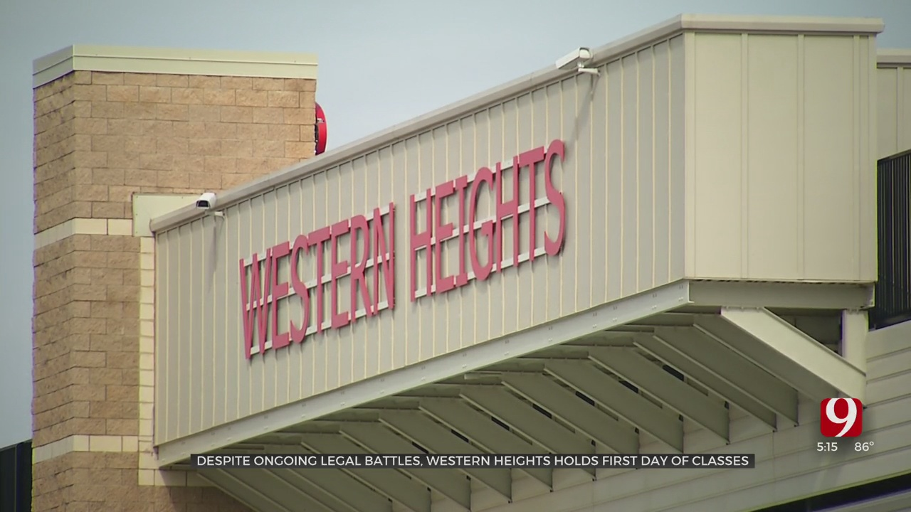 Western Heights Welcomes Students For 1st School Day Amid Legal Battles