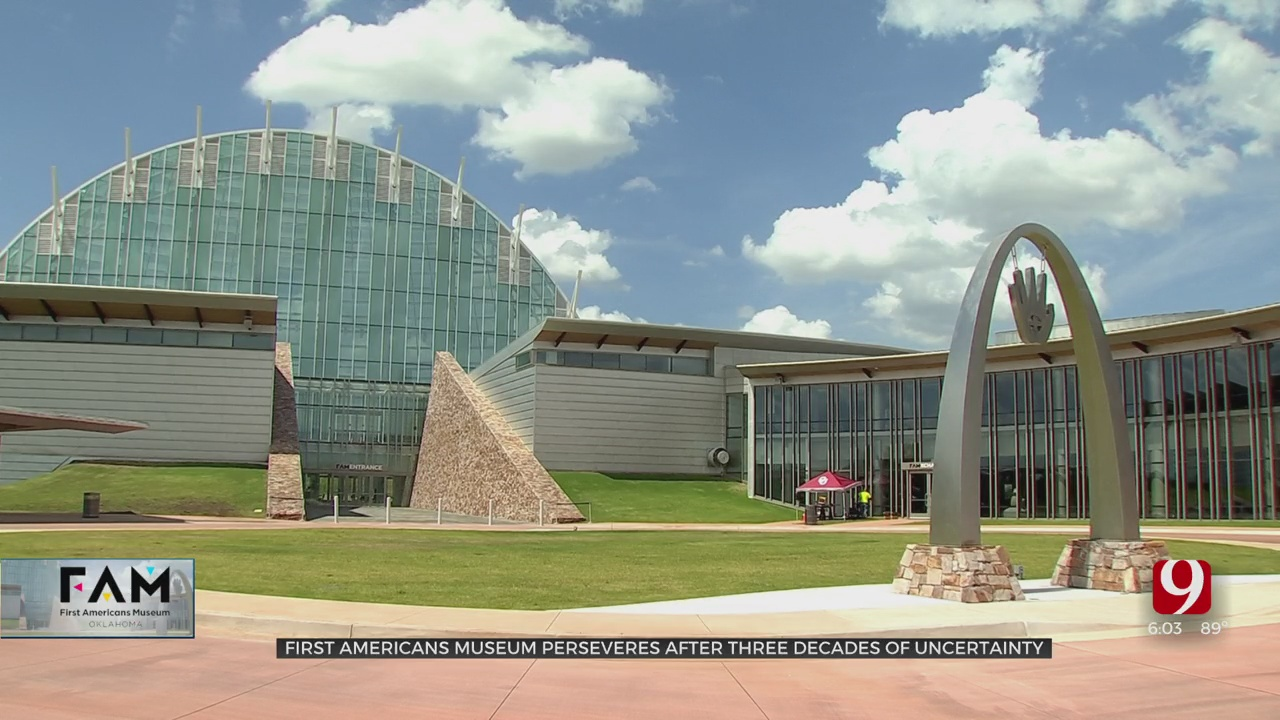 First Americans Museum Perseveres After 3 Decades Of Uncertainty