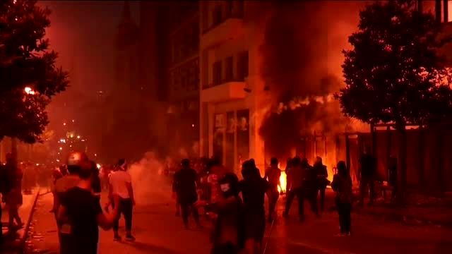 Lebanese PM Steps Down In Wake Of Beirut Explosion, Protests