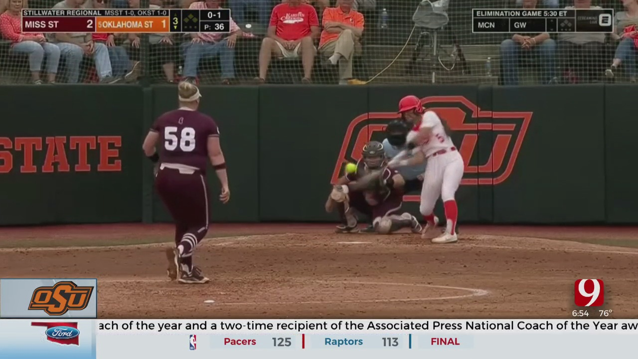 Cowgirls Advance To Regional Championship After Defeating Mississippi State