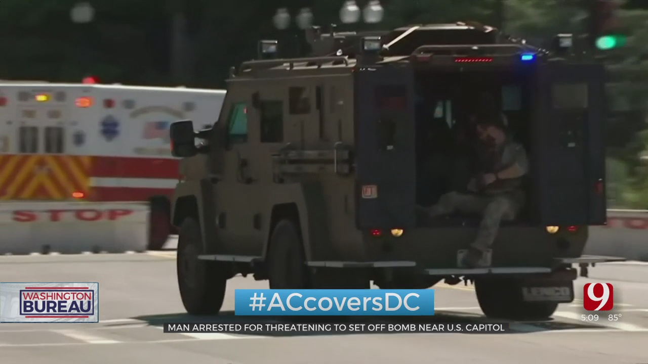 US Capitol Police Arrests Man Who Claimed To Have Bomb In Truck