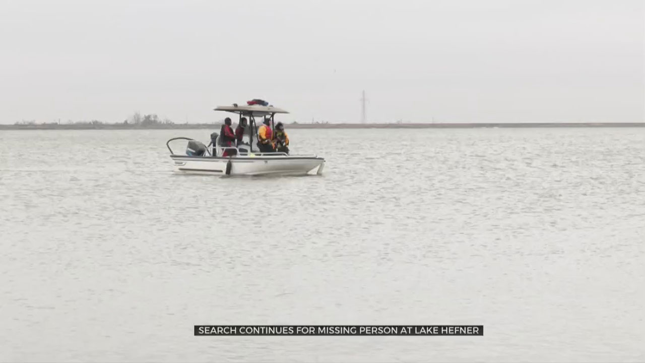 Crews To Continue Search For Missing Man At Lake Hefner