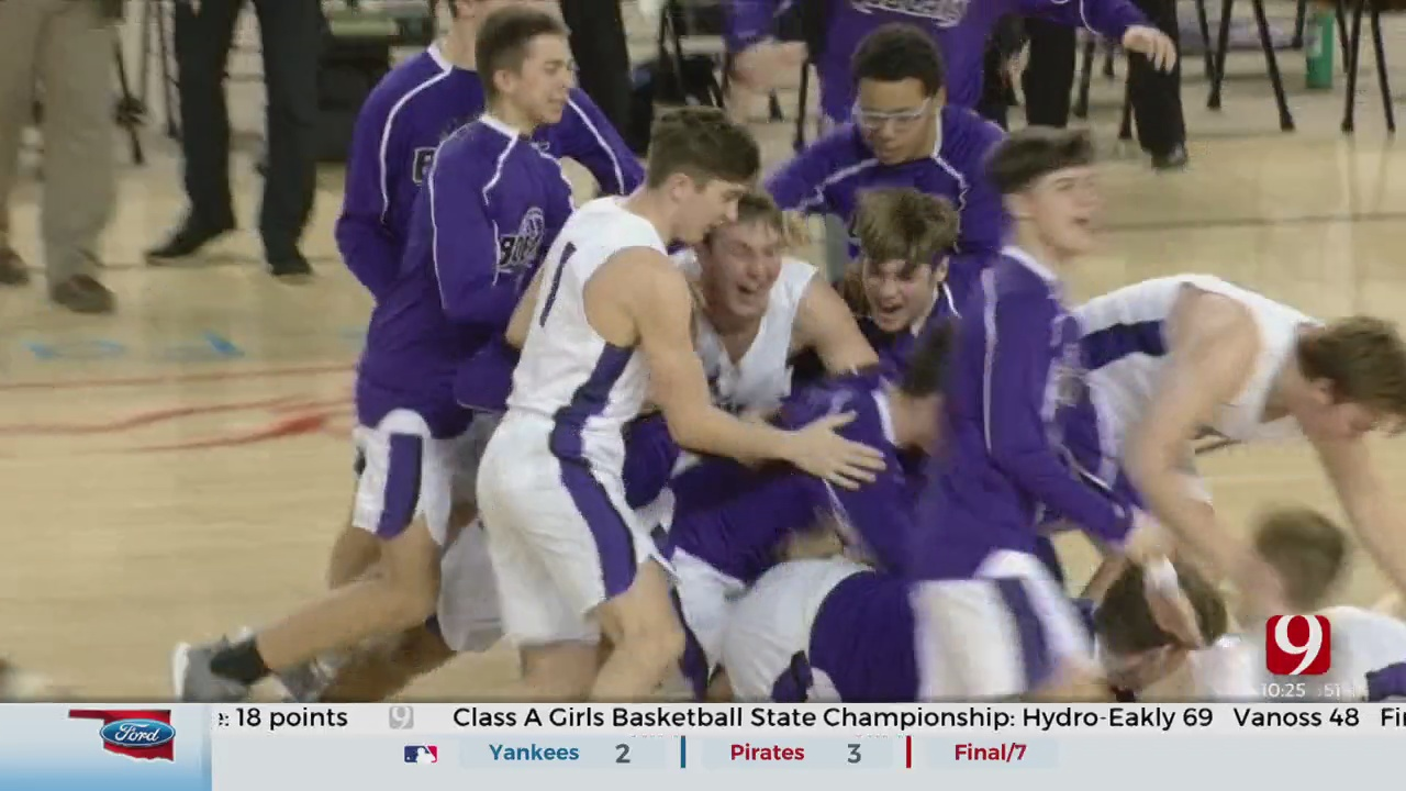 Hydro-Eakly Boys Complete Clean Sweep Of Class A Title Games