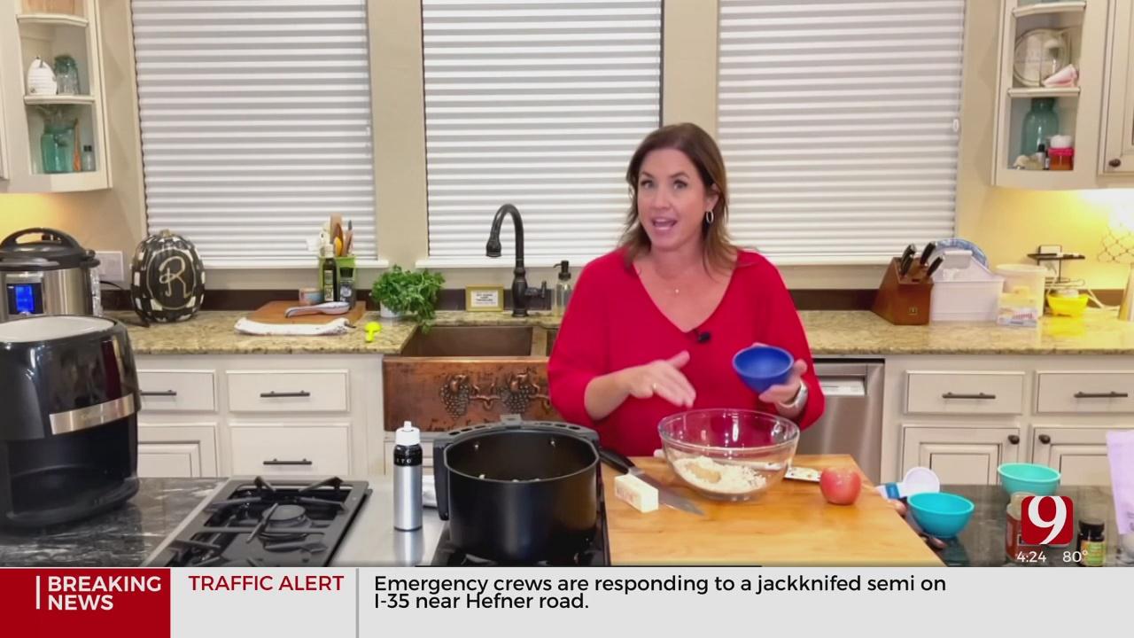 Gluten Free Air Fryer Cobbler