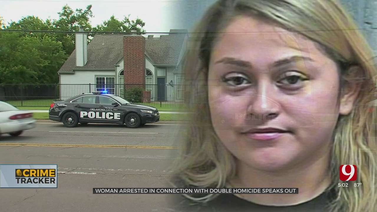 Woman Accused In NW OKC Double Murder Speaks To News 9 From Her Jail Cell