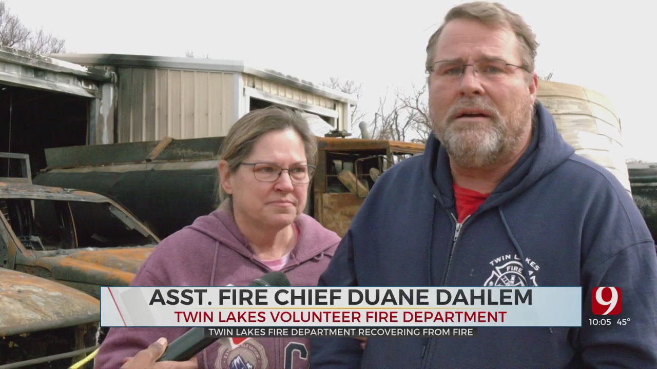 Twin Lakes Volunteer Assistant Fire Chief Returns Home After Fire, Hospital Visit