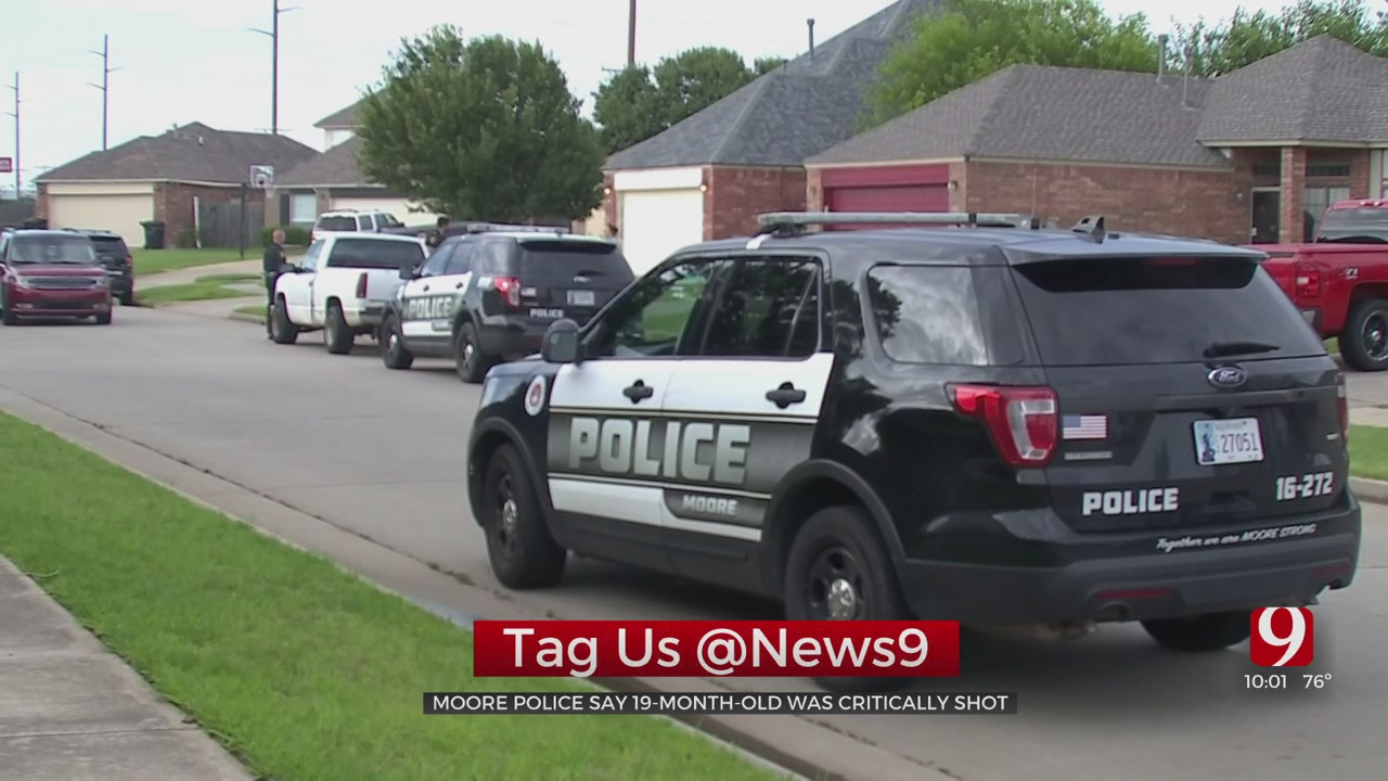 Neighbors Shocked After 19-Month-Old Is Accidentally Shot In Moore