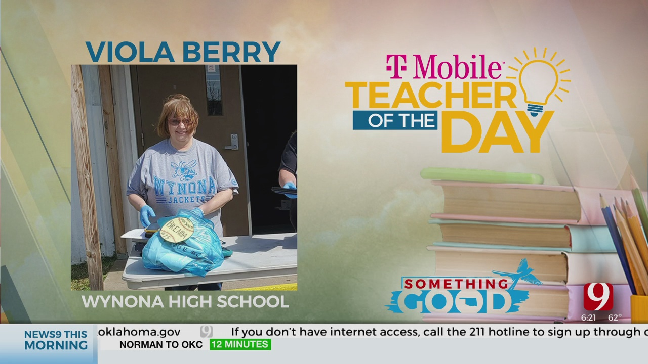 Teacher Of The Day: Viola Berry