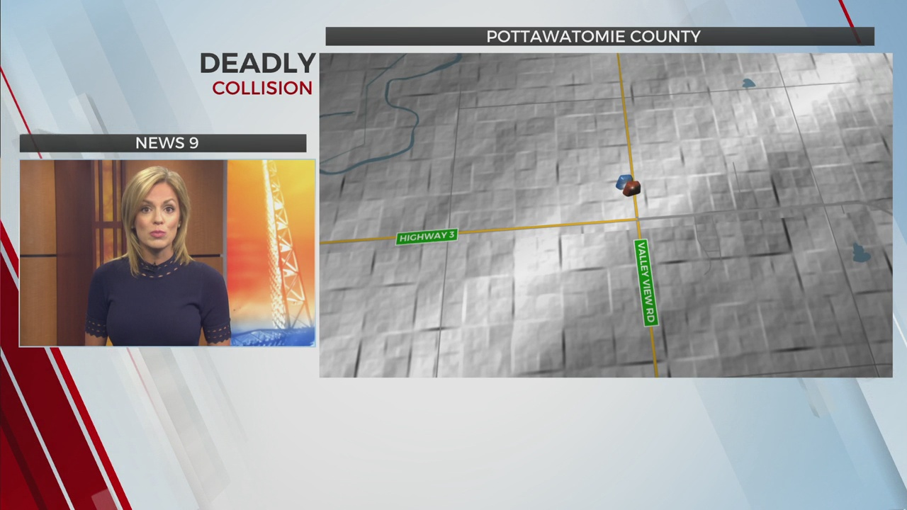 OHP: 2 Dead In Pottawatomie County Collision