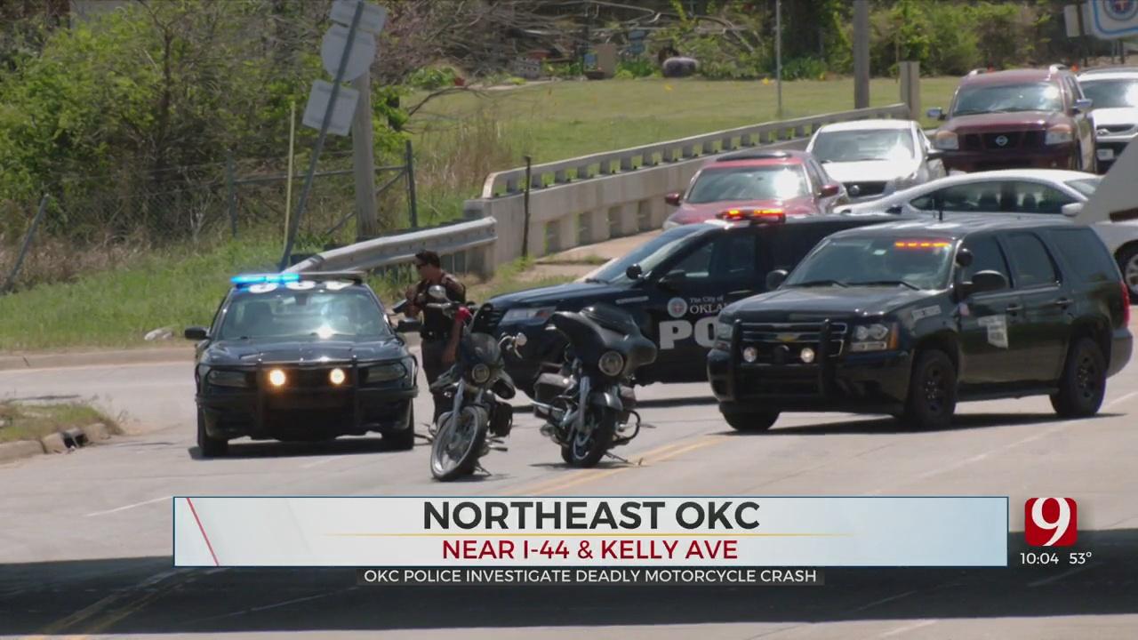 Police Respond To Fatal Crash Involving Motorcycle