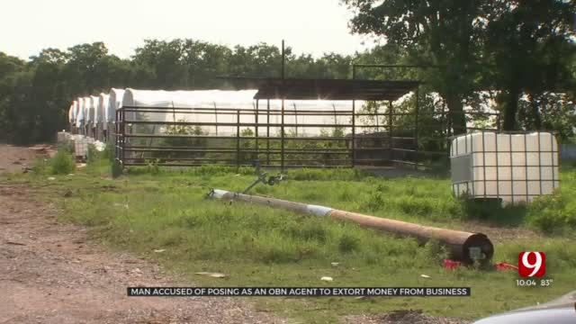 Man Posing As An OBN Agent Allegedly Extorts Money From Legal Grow Business In Stephens County