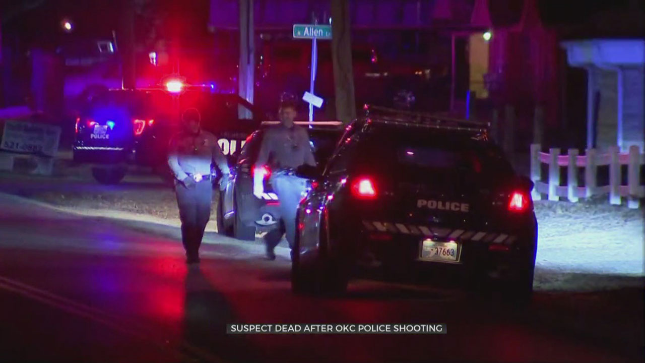 Man Dies In Overnight NW OKC Police Shooting