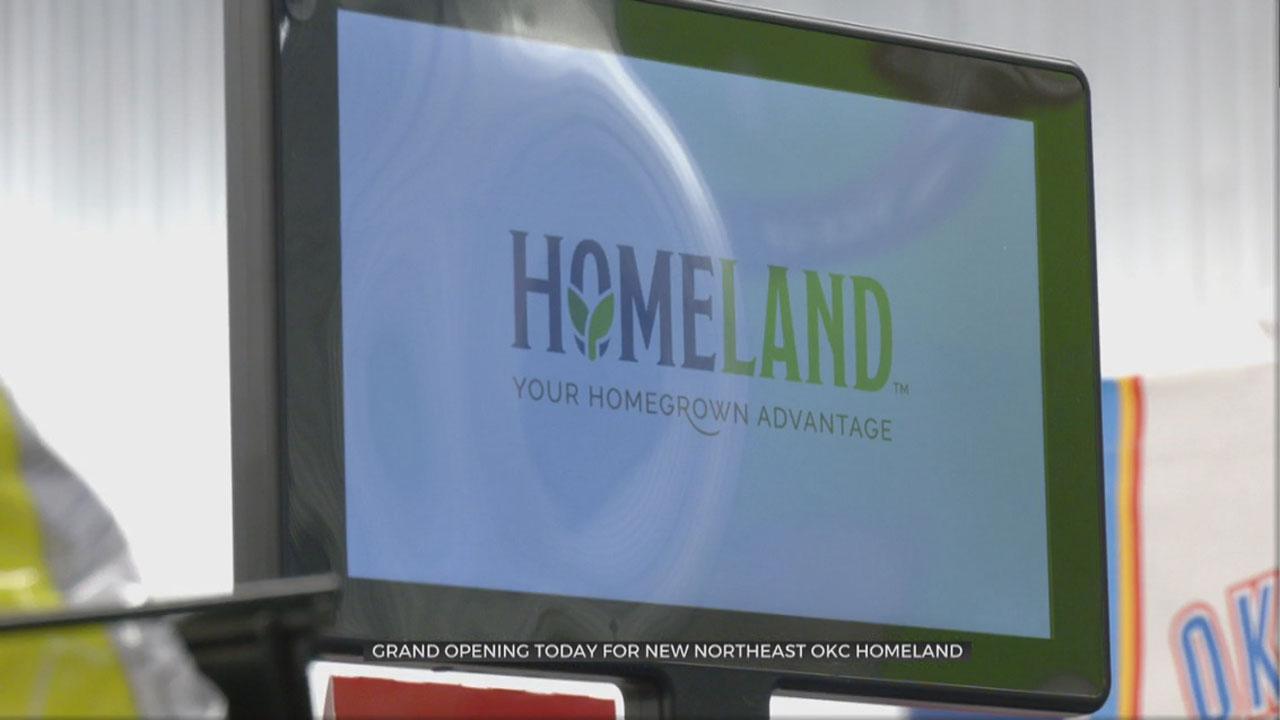 Grand Opening Of Homeland Store In NE OKC