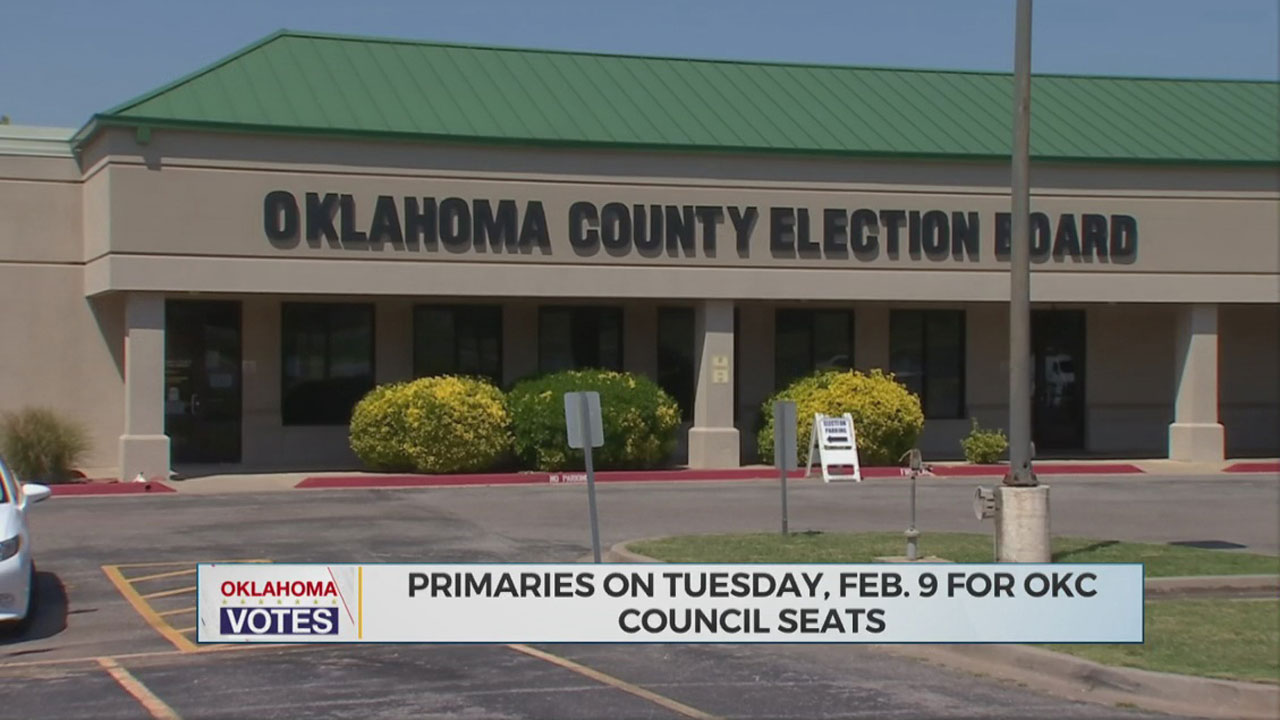 Early Voting Begins For OKC City Council Primary Election