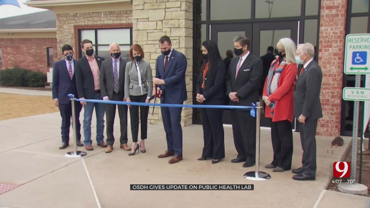 New Public Health Lab In Stillwater Nearing Completion