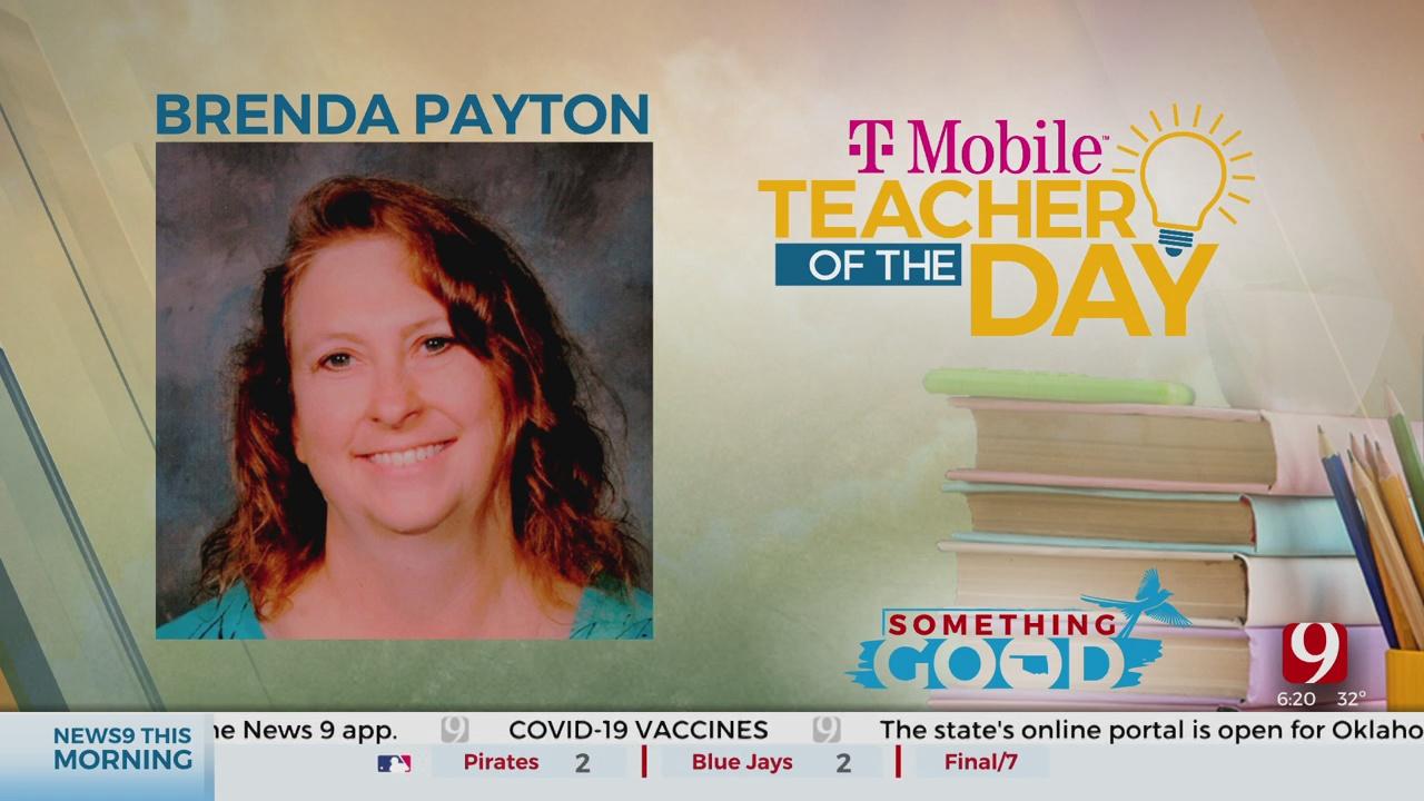 Teacher Of The Day: Brenda Payton