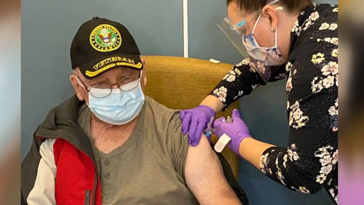 OKC VA Hosts Walk-In Vaccine Clinic Veterans Over 65