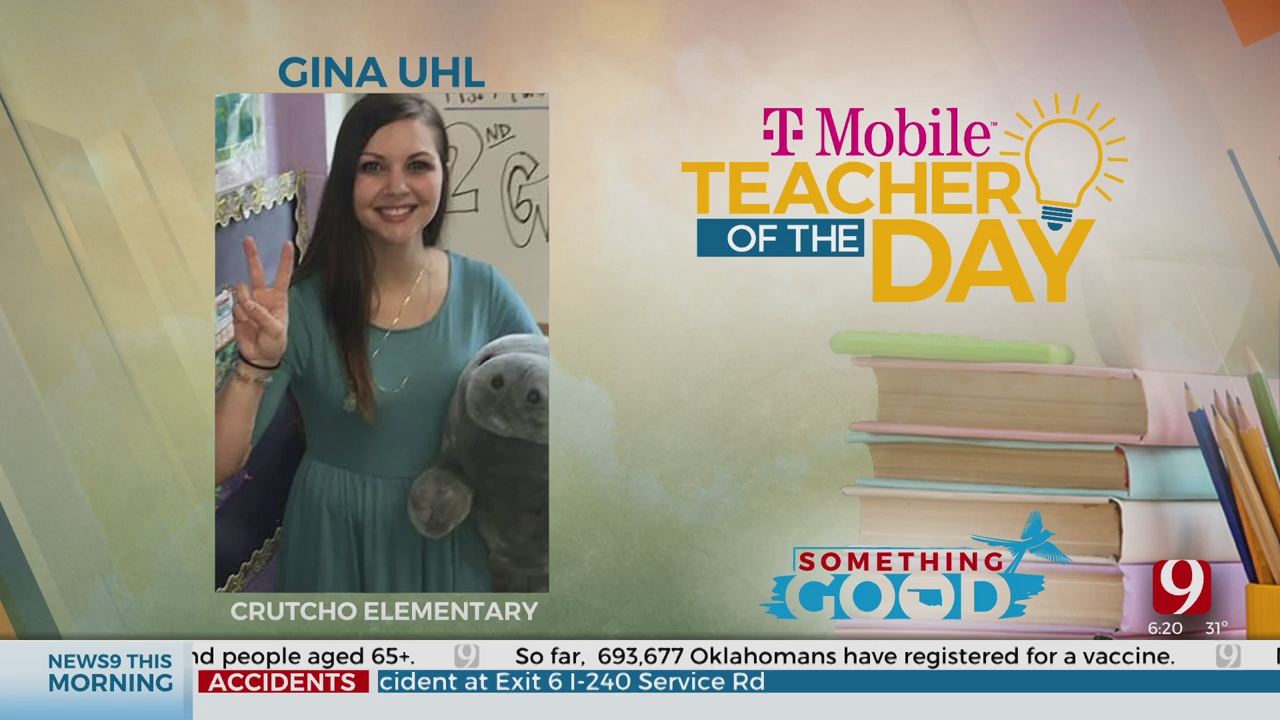 Teacher Of The Day: Gina Uhl