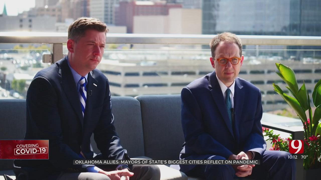 Oklahoma Allies: Tulsa, OKC Mayors Reflect On Pandemic Partnership