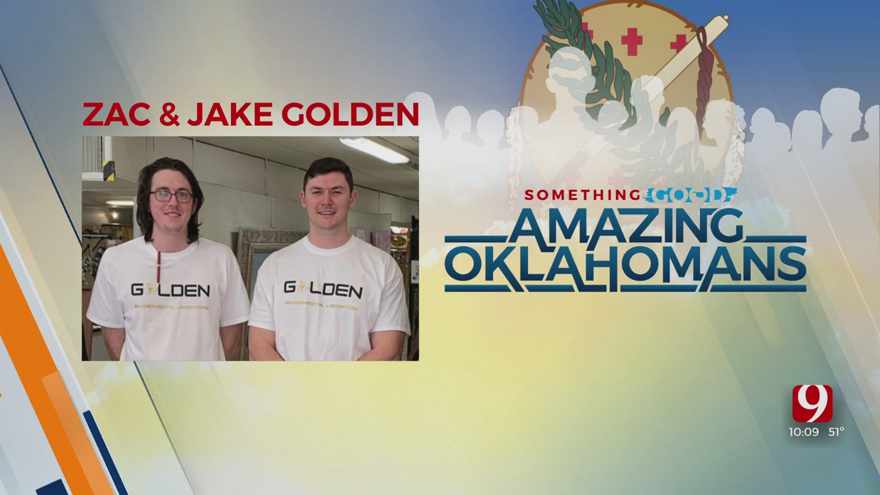 Amazing Oklahomans: Zac And Jake Golden
